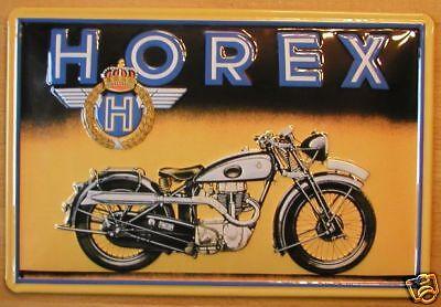 Schnelle Lieferung Horex - Blechschild, Motorrad ,neu Warm Und Winddicht