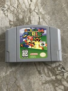 Nintendo-64-Super-Mario-64-N64-AUTHENTIC-Game-Cart-Cartridge-TESTED