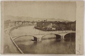 Pisa Italia Foto PL17c1n22 Cartolina Armadio Vintage Albumina