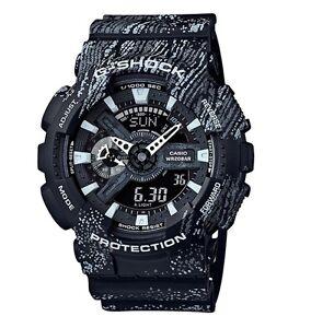 Casio G-Shock *GA110TX-1A Anadigi Graffiti Black Gshock Watch COD PayPal
