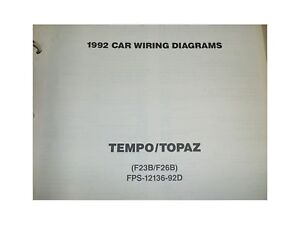 image is loading 1992-ford-tempo-topaz-wiring-diagrams