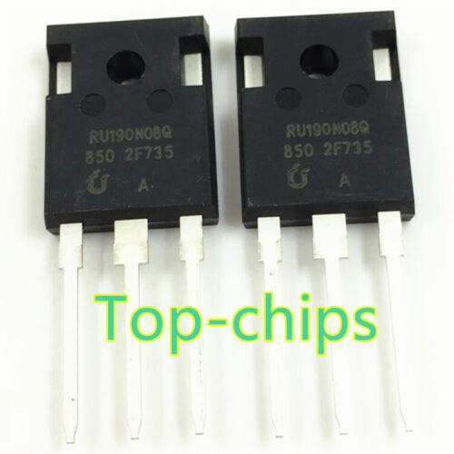 10PCS RU190N08Q RU190N08 N-Channel Advanced Power MOSFET IC
