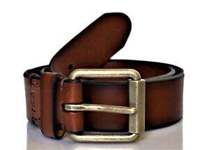 Levi-039-s-Men-039-s-Beveled-Roller-Buckle-Belt-Brown