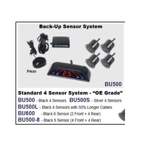 Accele-BU500S-Back-up-Parking-Sensor-System-w-4-Silver-Sensors