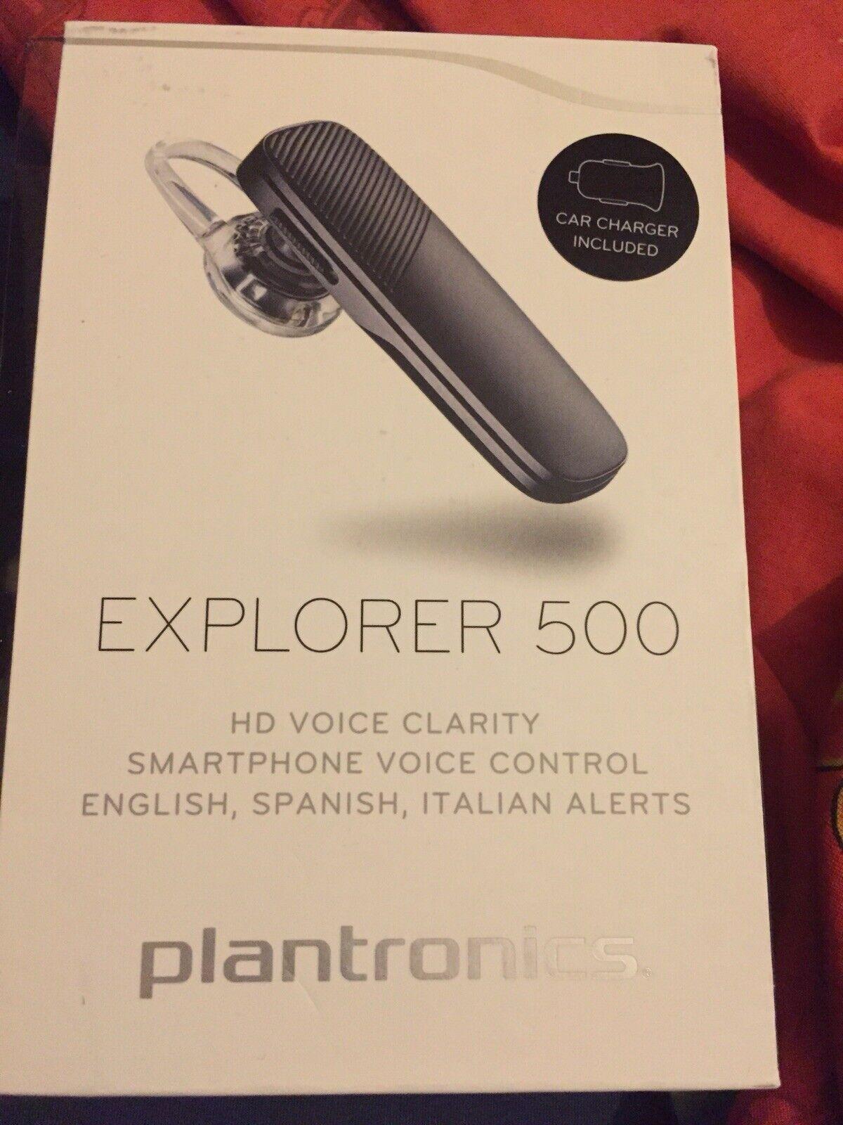 Plantronics Explorer 500 Wireless Bluetooth Headset For Sale Ebay