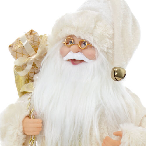 Christmas Room Decoration Premier 30cm-40cm Standing or Sitting Santa