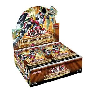 Lightning Overdrive Booster Box 1st Edition Factory Sealed Yu-Gi-Oh! Presell