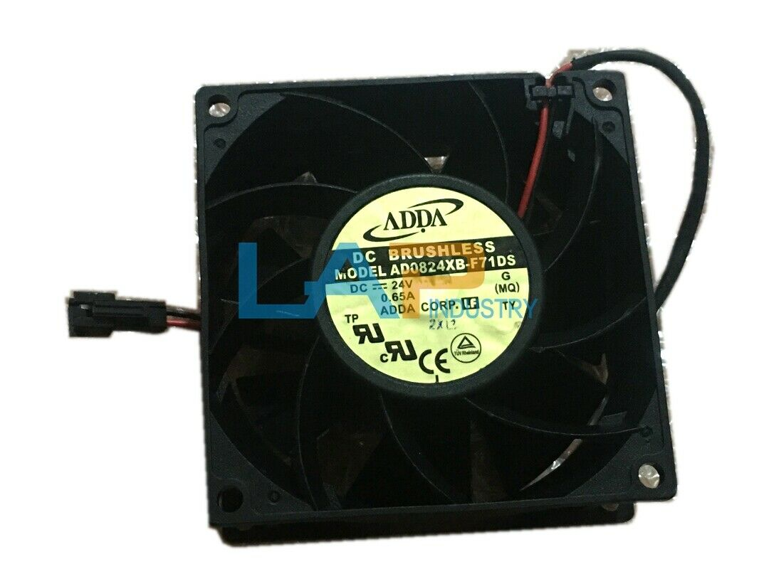 1pcs  ADDA AD0824XB-F71DS 8038 DC24V 0.65A cooling fan