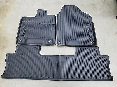 Genuine OEM 2017-2019 Honda Ridgeline All Season High Wall Floor Mat