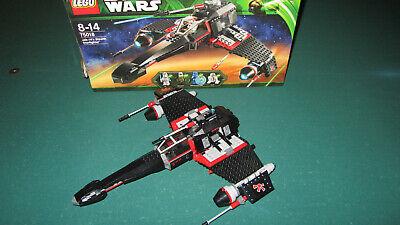 LEGO 75018 Jek-14 Stealth Starfighter Acryl Display Stand Acrylglas Standfuss f