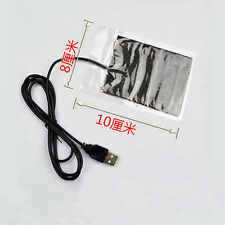 Protable USB Heating Heater Winter Warm Plate for Shoes Golves Mouse Pad SG