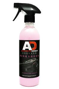 Autobrite-Direct-Pink-Sheen-Interior-Dressing-500ml-Detail-Valet-Car-Cleaner