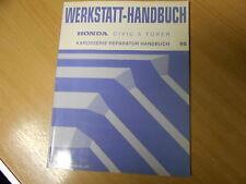 Karosserie Werkstatthandbuch Honda Civic 5-Türer 1995 (6. Generation)