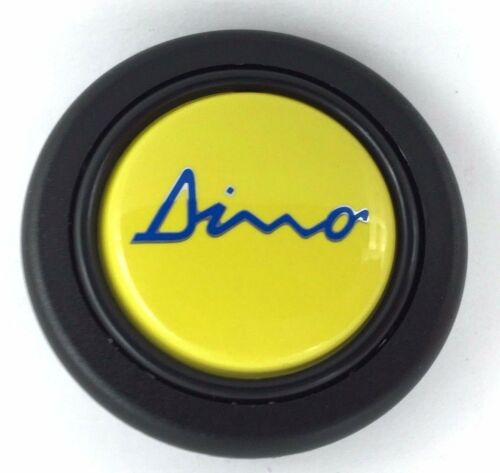 Dino Logo Volant Corne Bouton Poussoir S/'adapte MOMO SPARCO OMP Nardi RAID etc