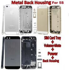 IPHONE 5S REPLACEMENT BACK REAR HOUSING BATTERY CHASSIS COVER GREY/SILVER/GOLD