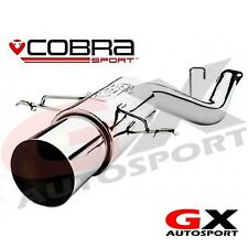 SB01y Cobra Sport Subaru Impreza WRX STI 01-05 Race Type Rear Box Exhaust