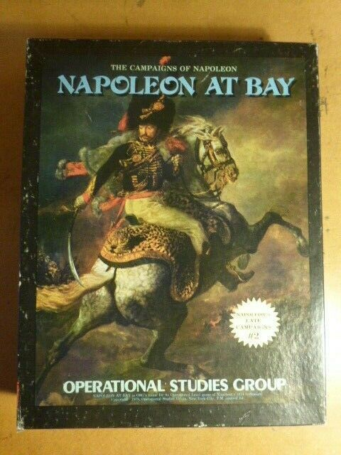 Napoleon at Bay (Complete) by Operational Studies Group OSG Avalon Hill