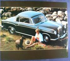 Älteres Blechschild Oldtimer Mercedes Benz Ponton Coupe gebraucht used