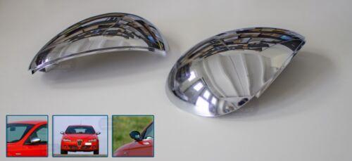 CALOTTE CROMATE ALFA 147 2000 /> Specchietti cromati coppia di calotta kit tuning
