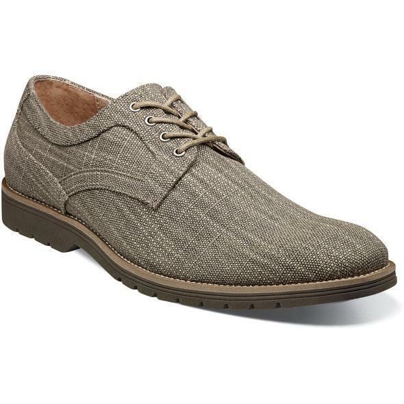 Stacy Adams Para hombres Zapatos Eli Plain Toe Oxford gris Topo 25237-260