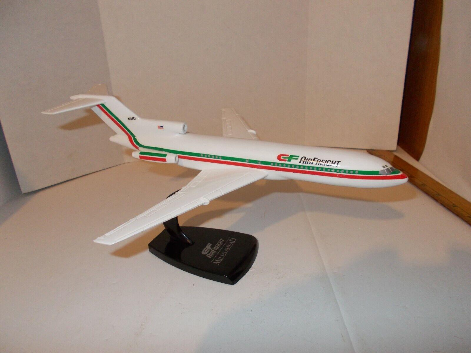 CF Air Freight Miles Ahead Desk Model Airplane