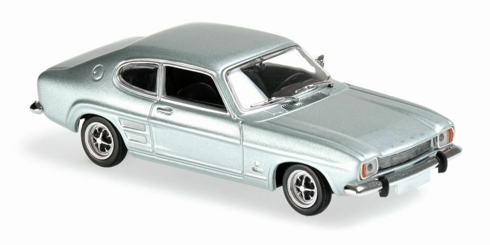 MINICHAMPS 940 085500 085501 FORD CAPRI diecast model cars red   bluee 1969 1 43