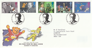 3-SEPTEMBER-1996-CHILDRENS-TV-CHARACTERS-ROYAL-MAIL-FIRST-DAY-COVER-BUREAU-SHS-v
