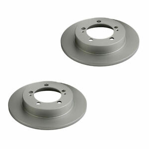 Details about REAR BRAKE DISCS, QUALITY BRITISH MADE for MITSUBISHI FTO GPX  GR, GS & GPVR