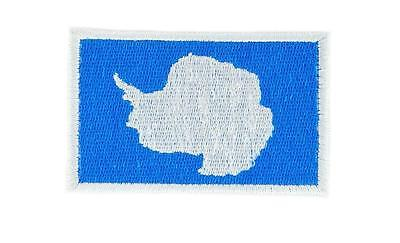 Antarctica Flag South Pole Embroidered Patch Sew or Iron on