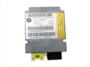 Sensor Airbag Crashsensor Airbagsensor Re Vo für BMW E65 735i 7er 01-05