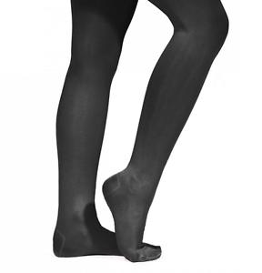 Noir Capezio Tenir Et Extensible Footed Danse Collants-N14-Toutes Tailles