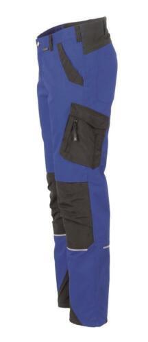 Planam Norit Herren Bundhose kornblau schwarz Modell 6402