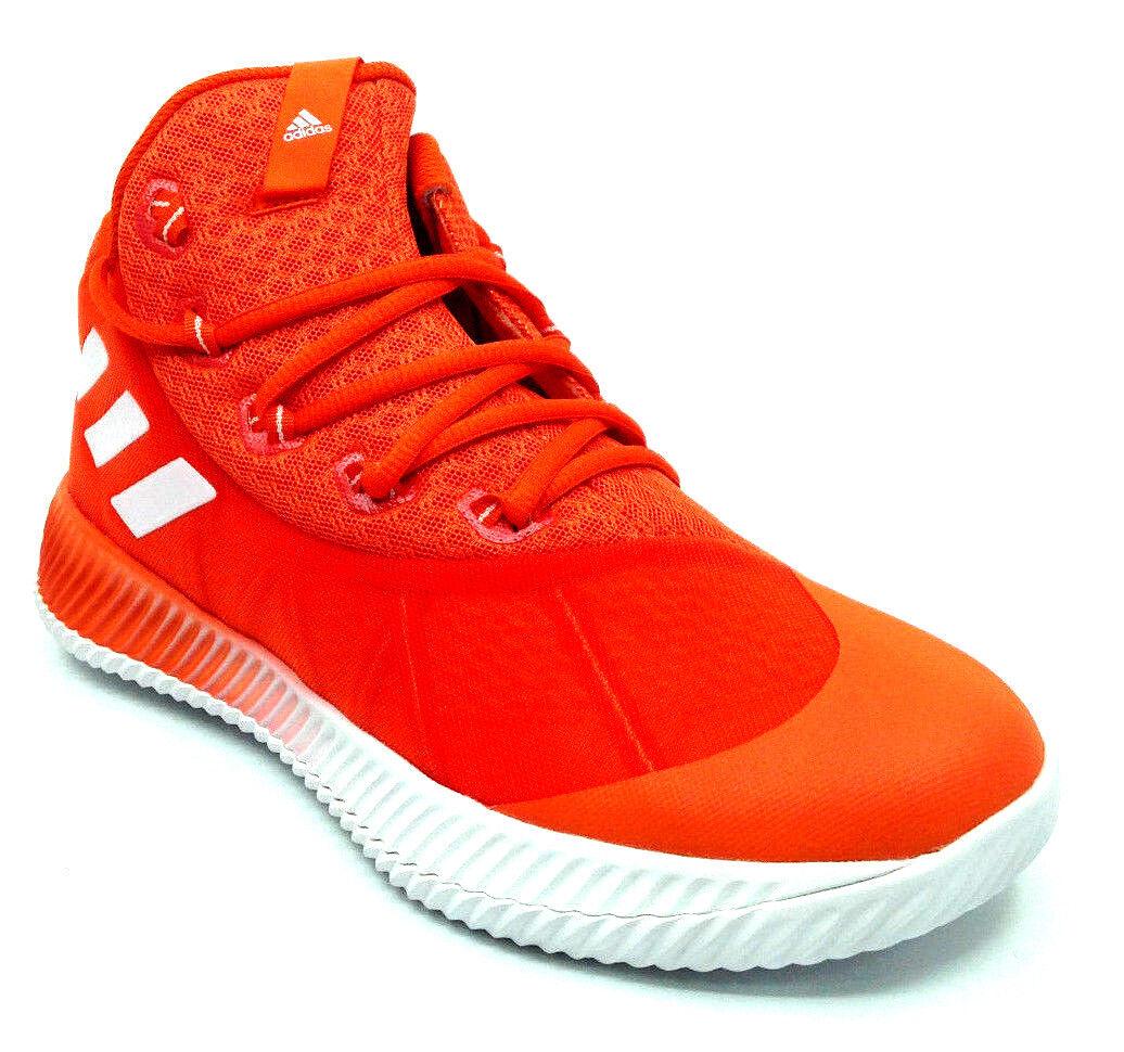 Adidas SM Energy Bounce BB NBA Men's Basketball orange White BY4346 Size 8