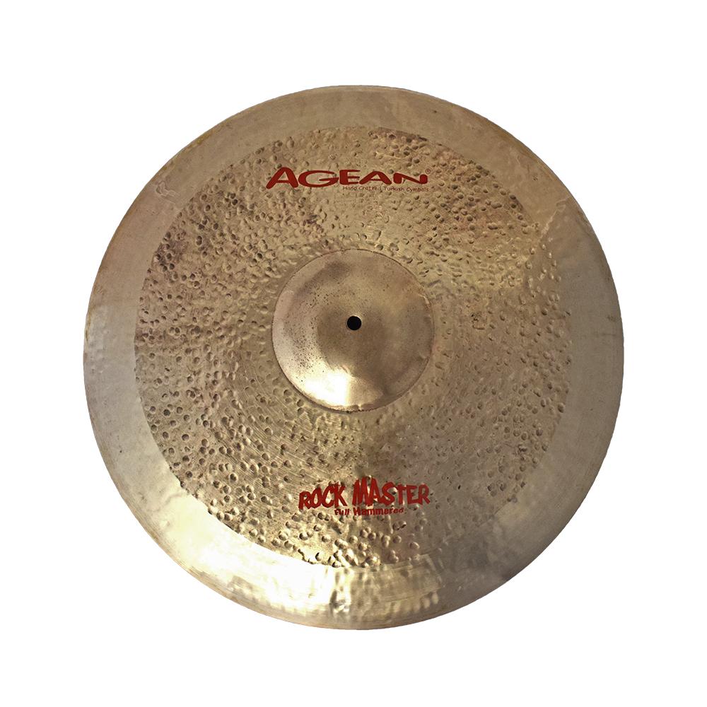 Agean Cymbals 24  Rock Master Ride