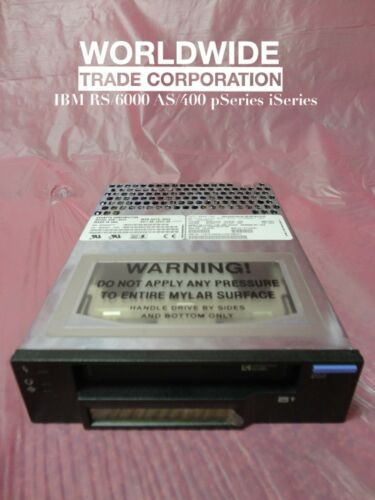 IBM 28L1654 10L6098 8mm 20//40GB Tape Drive Black not just powered on tested