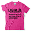 miniature 6 - Engineer T-shirt Funny Engineering T-shirt.Gift For Engineer Shirt Funny Tshirt