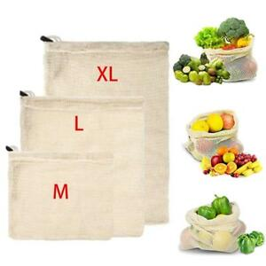 ECO-Reusable-Cotton-Mesh-Produce-Bags-Grocery-Fruit-Storage-Shopping-String-Bag