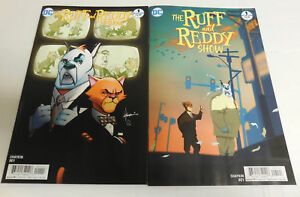OF 6 1ST PRINTING VARIANT COVER DC COMICS 2017 RUFF /& REDDY SHOW #3