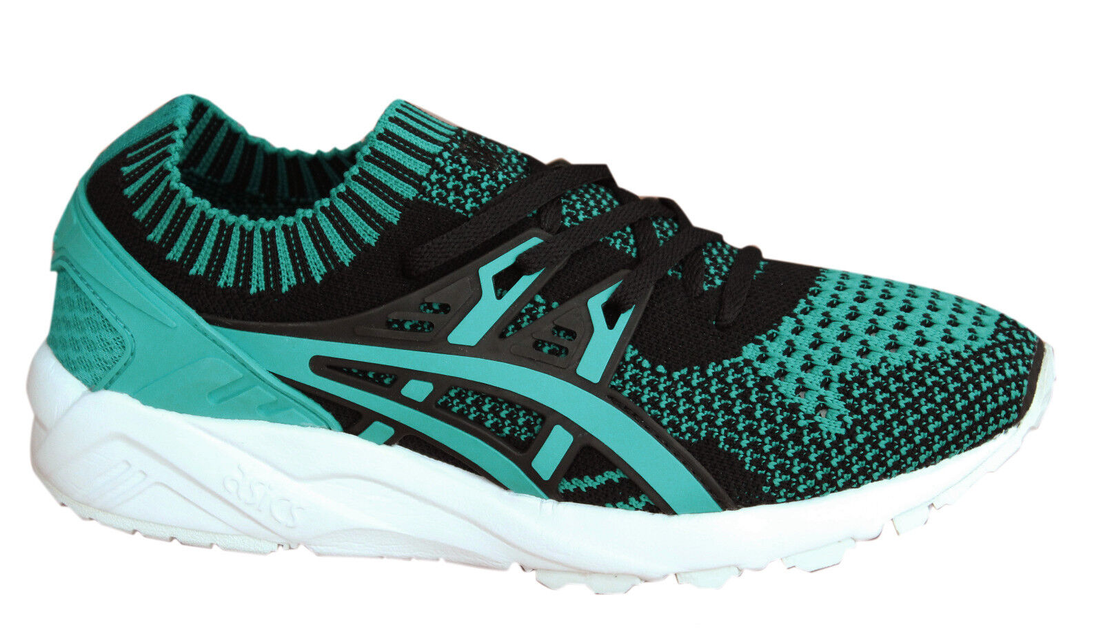 Asics Gel-Kayano Trainers Knit Damenschuhe Schuhes Lace Up Textile Green H7W7N 8383 M9