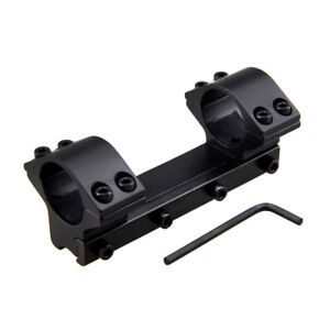 25-4mm-1-034-Dual-Ring-One-Piece-Low-Flat-Top-11mm-Narrow-Dovetail-Rail-Scope-Mount