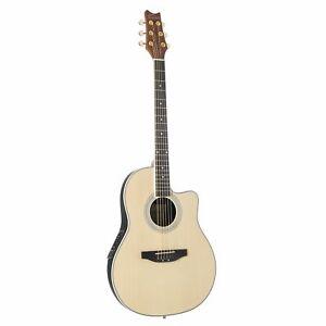 Red Hill ARB-45 NT Westerngitarre, Akustik-Gitarre mit Tonabnehmer, elektroakust