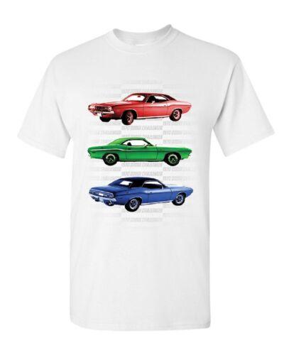 1970 Dodge Challenger T-Shirt 1st Gen T//A Classic Muscle Car Mens Tee