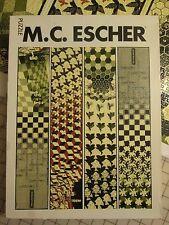 "VERY RARE!! M.C. Escher  ""Metamorphose""  3000 Piece 8 1/2 X 159 Inches"