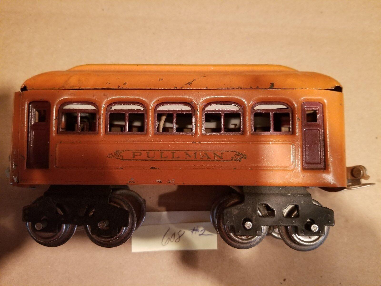 Lionel 608 Pullman Car 'O' Prewar 26-37 (JS)