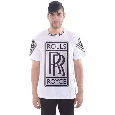 New Rolls Royce Luxury Sublimated T-shirt Men/'s Sport Mesh Tee Size XS-3XL