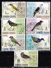 Samoa and Sisifo Islands Fauna Birds set 1971
