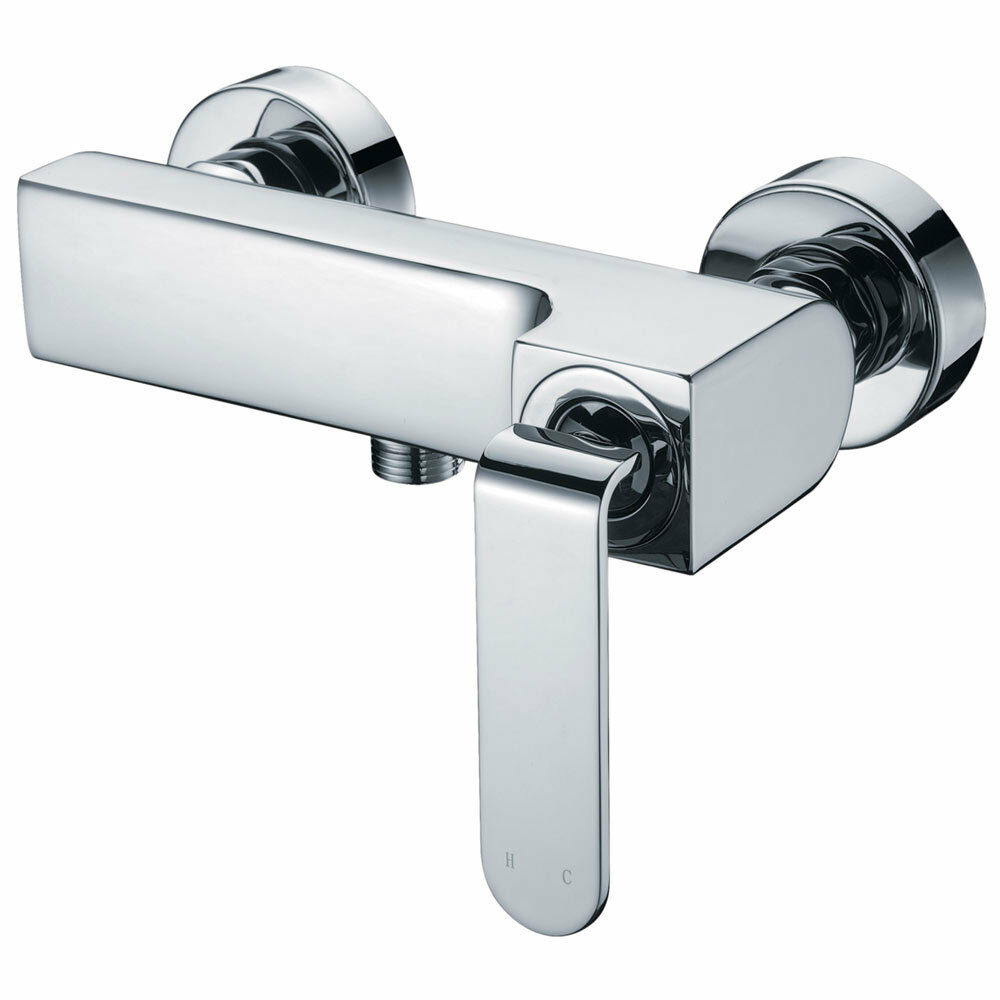 Modern Design Einhebel Badezimmer Bad Armatur Dusche Chrom Sanlingo Serie KATA