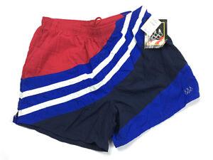 8b61ef9054 Vintage NOS USA Olympic JCPenney Red White Blue Swim Trunks Men's ...