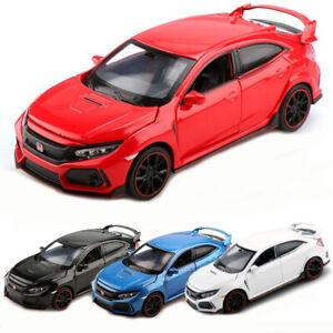 Honda-Civic-Type-R-1-32-Metall-Die-Cast-Modellauto-Auto-Spielzeug-Model-Sammlung