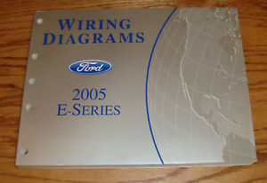 Original 2005 Ford E-Series Econoline Wiring Diagrams ...